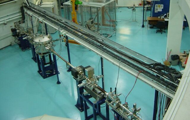 SINS Beamlineinstallation