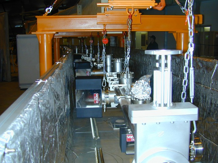 Swiss Light Source Vakuum System