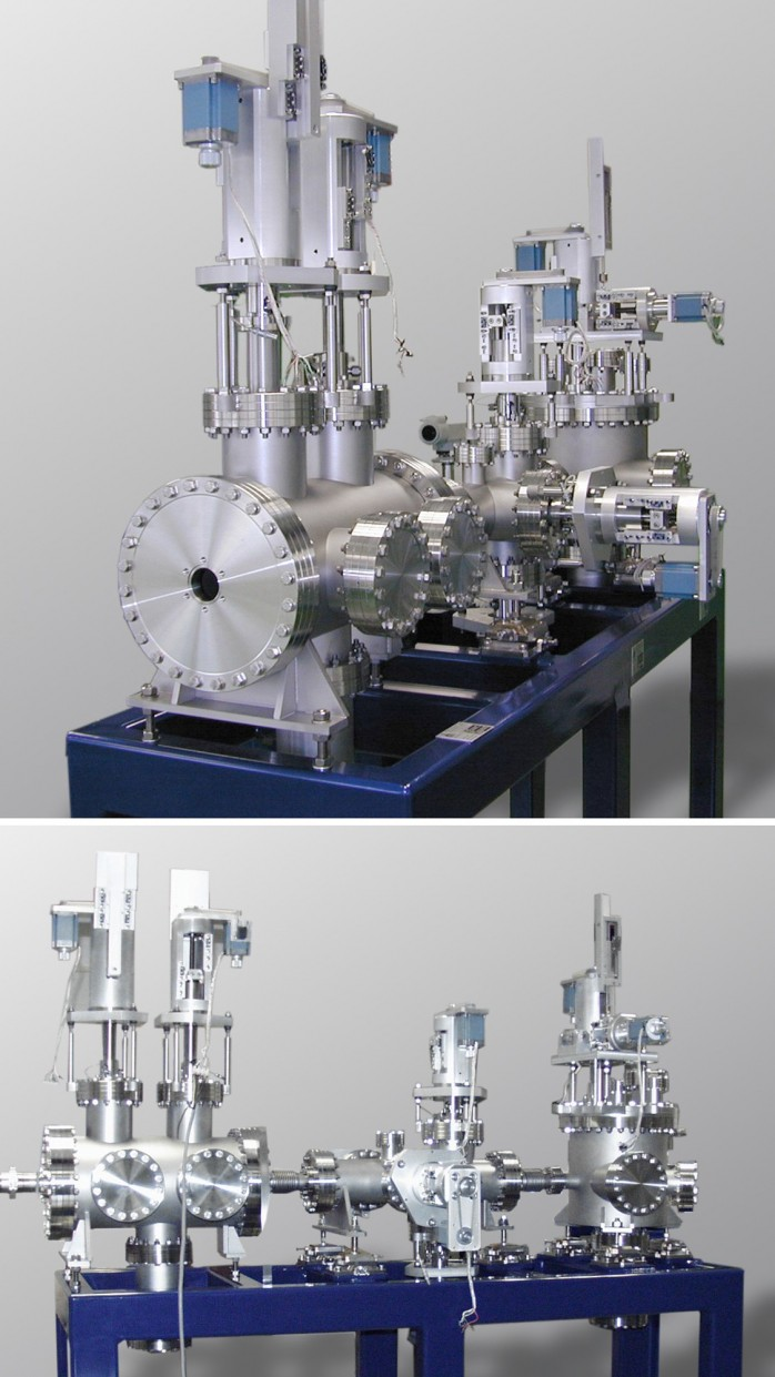 Components for a protein crystallography Beamline